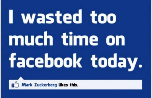Waste time on Facebook