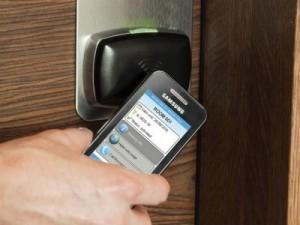 Chiave virtuale su smartphone