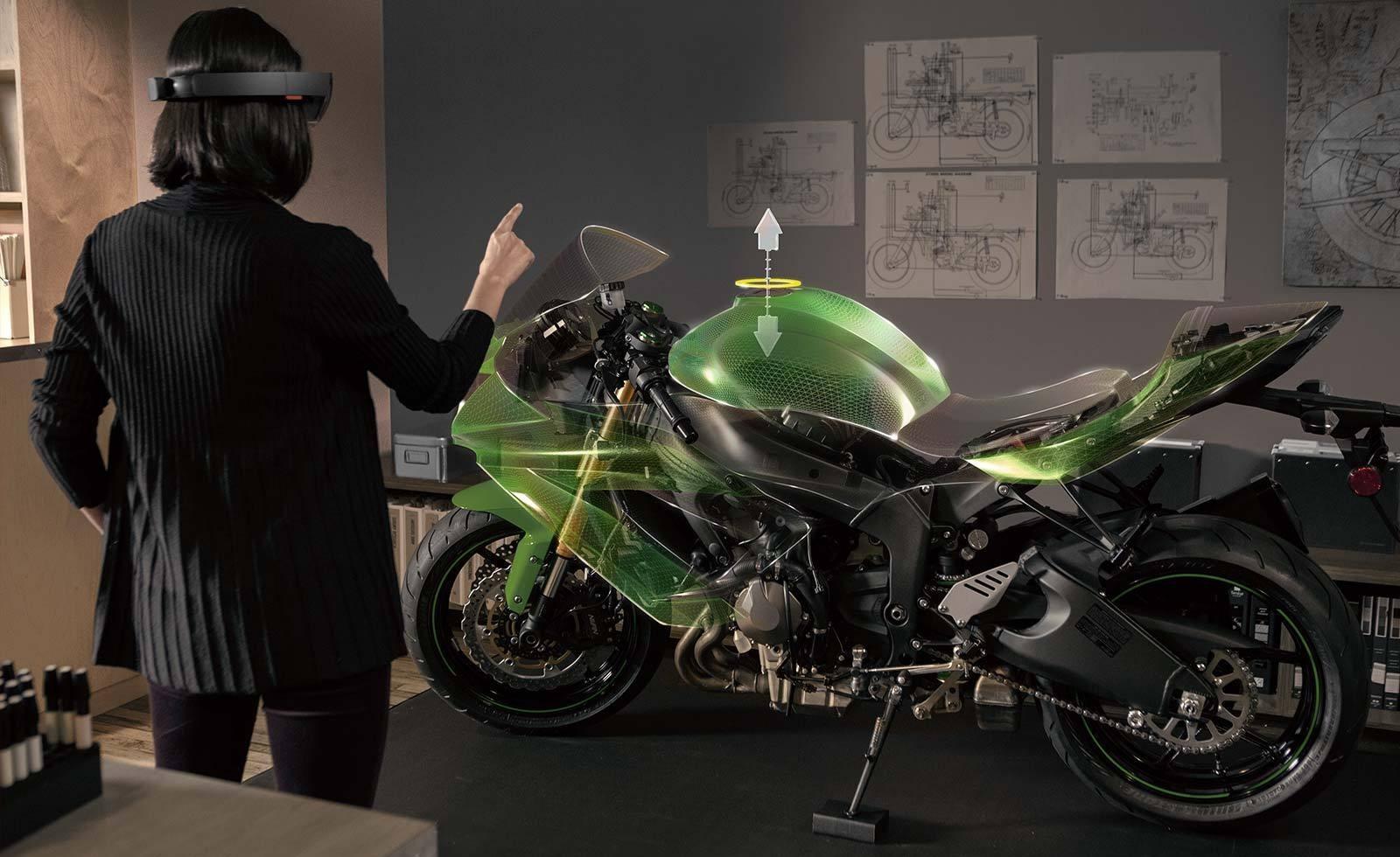 realtà virtuale hololens