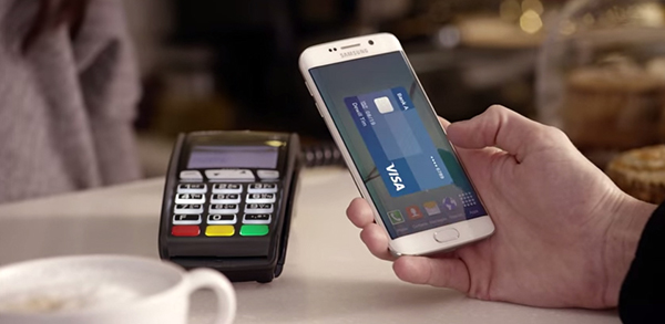 Samsung Galaxy S6 PAY method