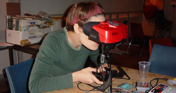 realtà virtuale - virtual boy